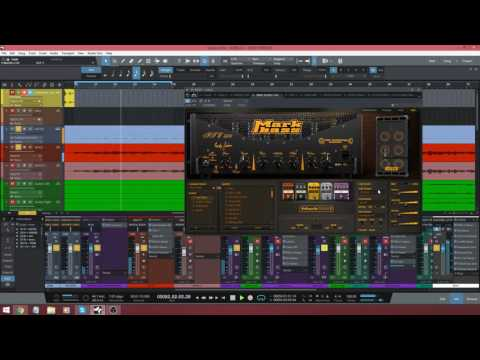 Mark Studio 2 Bass plugin - Testing amps, cabs and mics