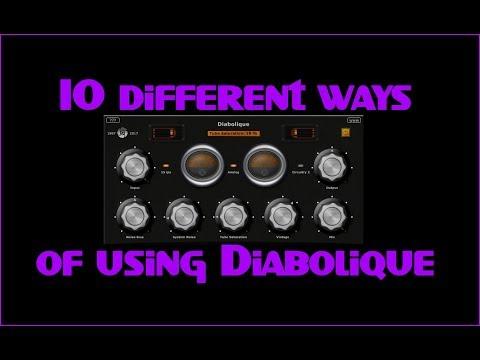 10 different ways of using Diabolique (Free VST plugin)