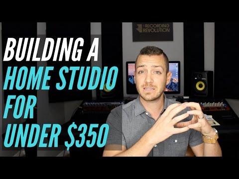 How To Build A Home Studio For Under $350 - TheRecordingRevolution.com