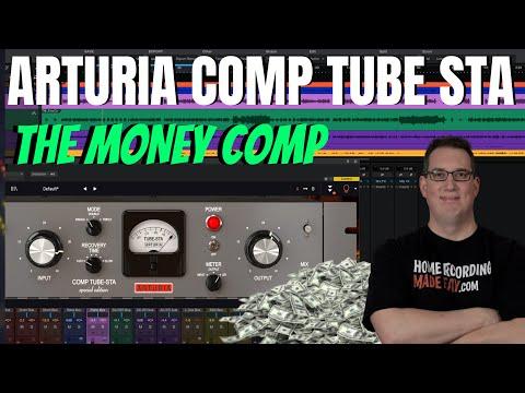 Arturia Comp Tube STA Compressor | One of My New Favorites