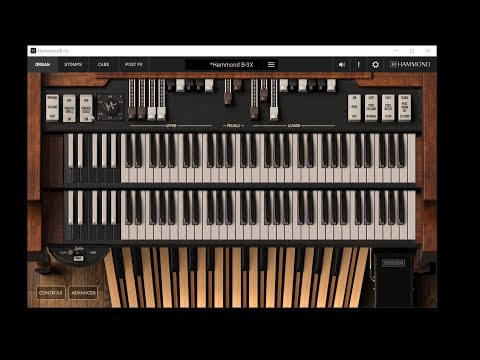 IK Multimedia Hammond B-3X Virtual Organ Demo