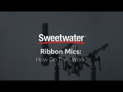 Ribbon Mics: How Do They Work?