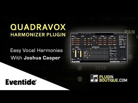 Quadravox Pitch Shifter By Eventide - Setting Up Easy Vocal Harmonies