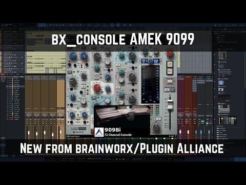 bx_console AMEK 9099   New from brainworx/Plugin Alliance