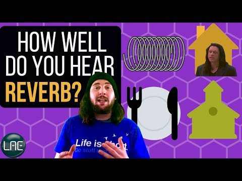 PLATE, SPRING, HALL, ROOM Can YOU hear the difference? Reverb Ear Training Quiz