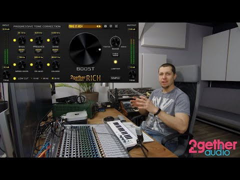 RICH Audio Mastering Plugin Walkthrough