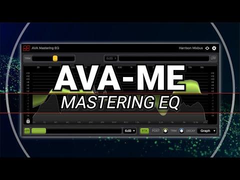 Harrison AVA Mastering EQ Plugin (AAX/VST/VST3/AU)