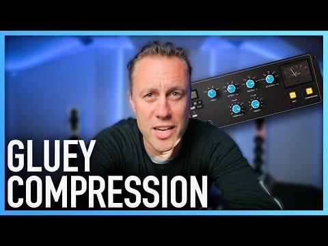GLUEY COMPRESSION | How To Use A Mix Bus Compressor