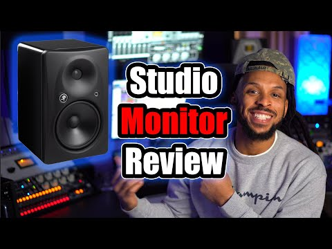 Studio Monitors Review | Mackie HR824 | Unboxing and Review