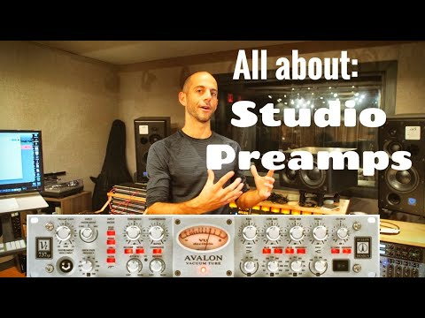 Studio Preamps Explained! (2020)
