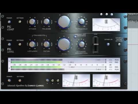 Mastering Tutorial with FG-X from Slate Digital