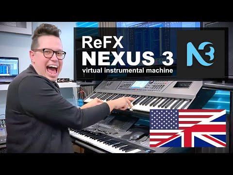 [ENG] Nexus 3 - Virtual instrument for Dance music