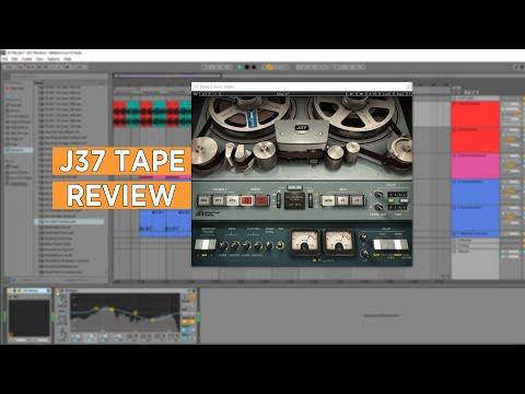 Waves J37 Tape Plugin - Review & Demo