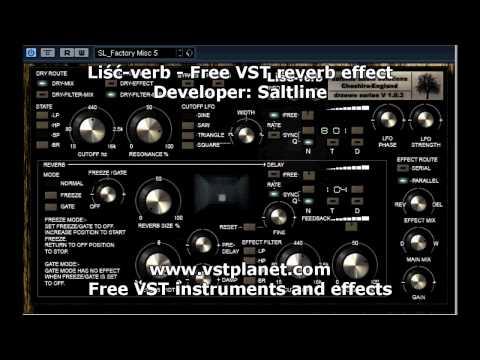 Liść-verb - Free VST reverb effect - vstplanet.com