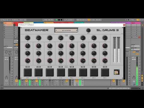Beatmaker SL Drums 3 Free Drum Machine VST Plugin