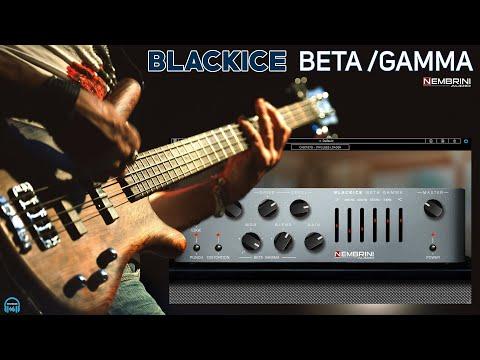 Nembrini Audio BLACKICE BETA GAMMA Bass Amp Plugin - THE DEFINITIVE GUIDE
