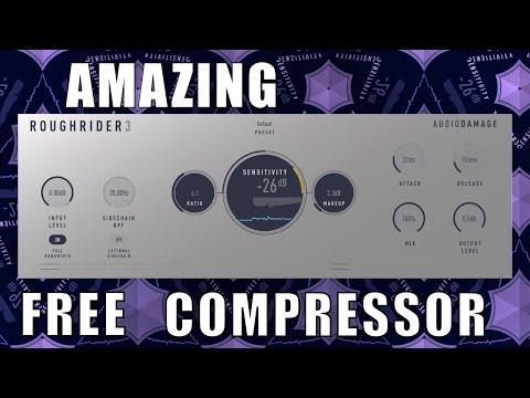 Audio Damage Rough Rider 3 Compressor - Best Free Audio Plugins - Test and Review