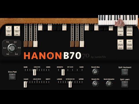 HaNon B70 organ vst