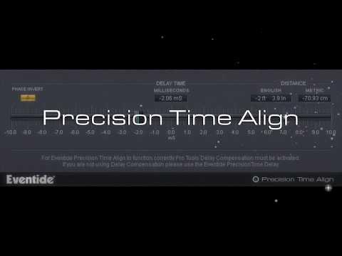 Eventide Precision Time Align Plugin