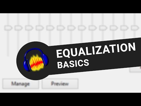 Equalization in audacity