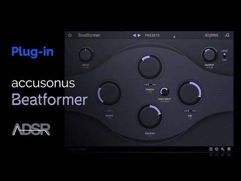 Accusonus Beatformer - Musical Beat Sculpting