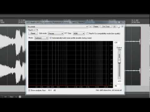 Noise Removal: 5 Minutes in Reaper