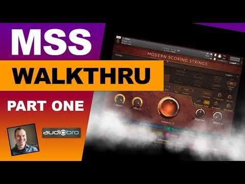 Modern Scoring Strings walkthrough part 1 (AudioBro MSS)