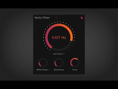 Noiiz Filter - FREE new plugin for music producers!