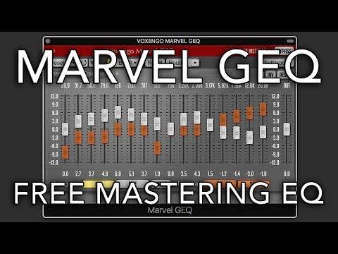 Marvel GEQ Voxengo   FREE PLUG-IN WEEKLY