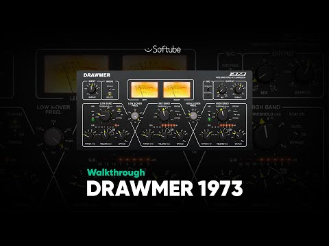 Customize Your Dynamic Control With Drawmer 1973 – Softube