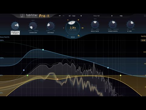 Introduction to FabFilter Pro R reverb