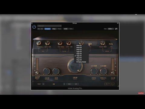 Analog Pro - VST and AU compatible effect plugin