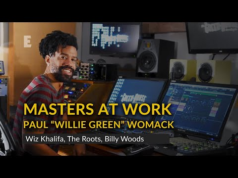 """Masters at Work: Paul """"Willie Green"""" Womack on Making a Beat with Physion"""