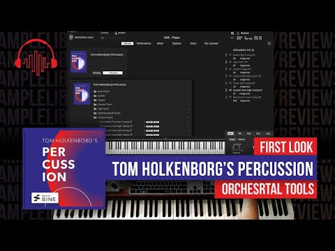 First Look: Tom Holkenborg's Percussion by Orchestral Tools