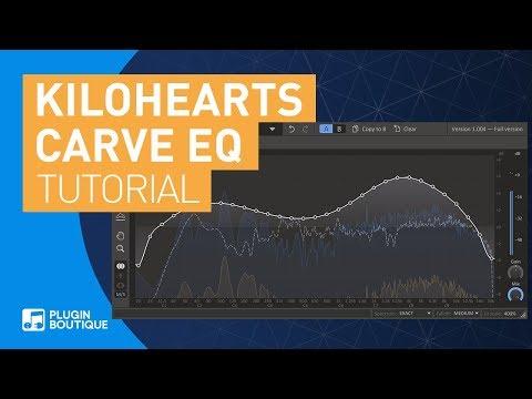 Carve EQ Tutorial   EQ Match Tool In-Depth   31-Band Graphic EQ by Kilohearts