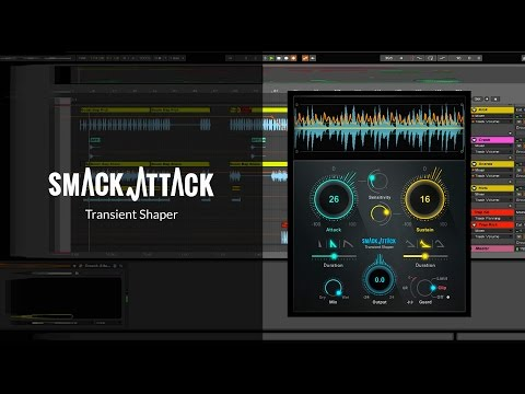 How to Get Punchier Drums & Percussive Sounds – Smack Attack Transient Shaper