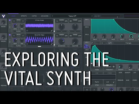 Exploring the Vital synth (by Vital Audio)