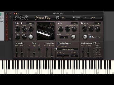 Piano One (Neo Piano) Virtual Instrument Plugin in REAPER
