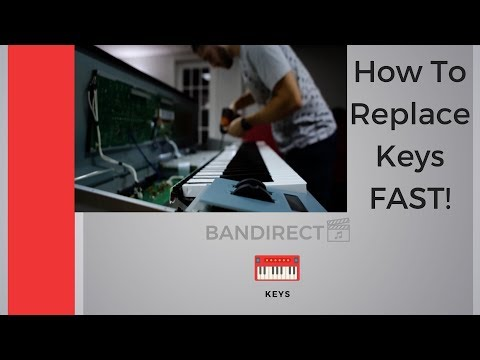 How To Replace Keys On ALL Yamaha Keyboards FAST!