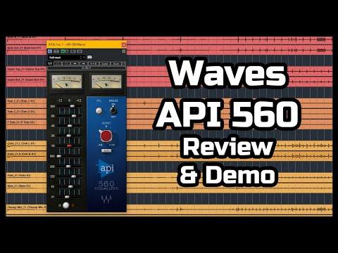 Waves API 560 review & demo