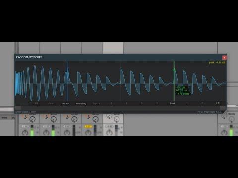 PSYSCOPE free multi channel oscilloscope VST