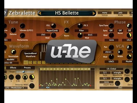 FREE Synthesizer from U-he—Zebralette Review