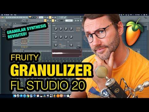 Granular Synthesis Tutorial - Fruity Granulizer - FL Studio 20