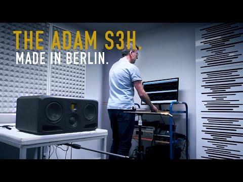 The ADAM Audio S3H. Made in Berlin.