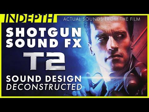 Shotgun sound design deconstructed from Terminator 2