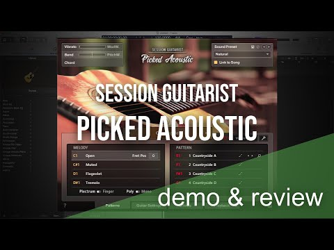 Session Guitarist   Picked Acoustic   Demo & Review