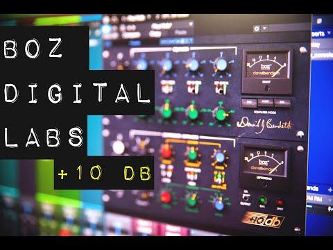 "Unique EQ and Compression - ""Plus 10 dB"" from Boz Digital Labs"