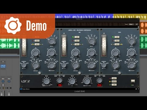 Multiband Compression with Vintage Vibe using the Lindell 354E - Demo