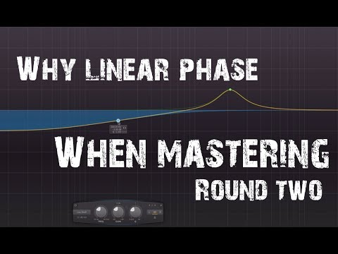 Why Linear Phase for Mastering? (Linear Phase EQ) Pt2