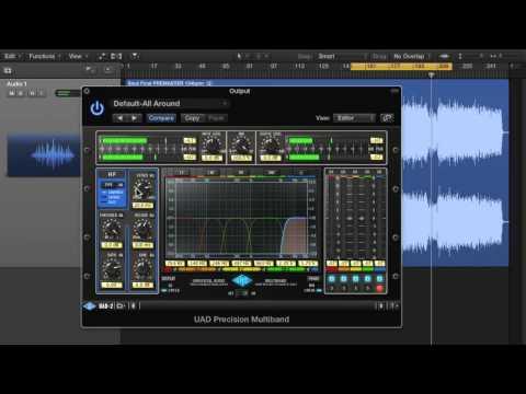 Mastering Processes: Multiband Processing